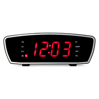 Telephone Radio Alarm Clock 丨YM-185-Black