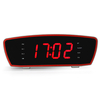 OEM Clock Radio with Large LED Digital丨YM-185 -Silver