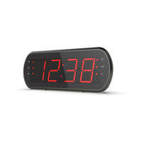 Alarm Clock radio with big LCD丨YM-188