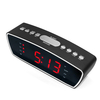 Big screen clock radio 丨YM-185-Black